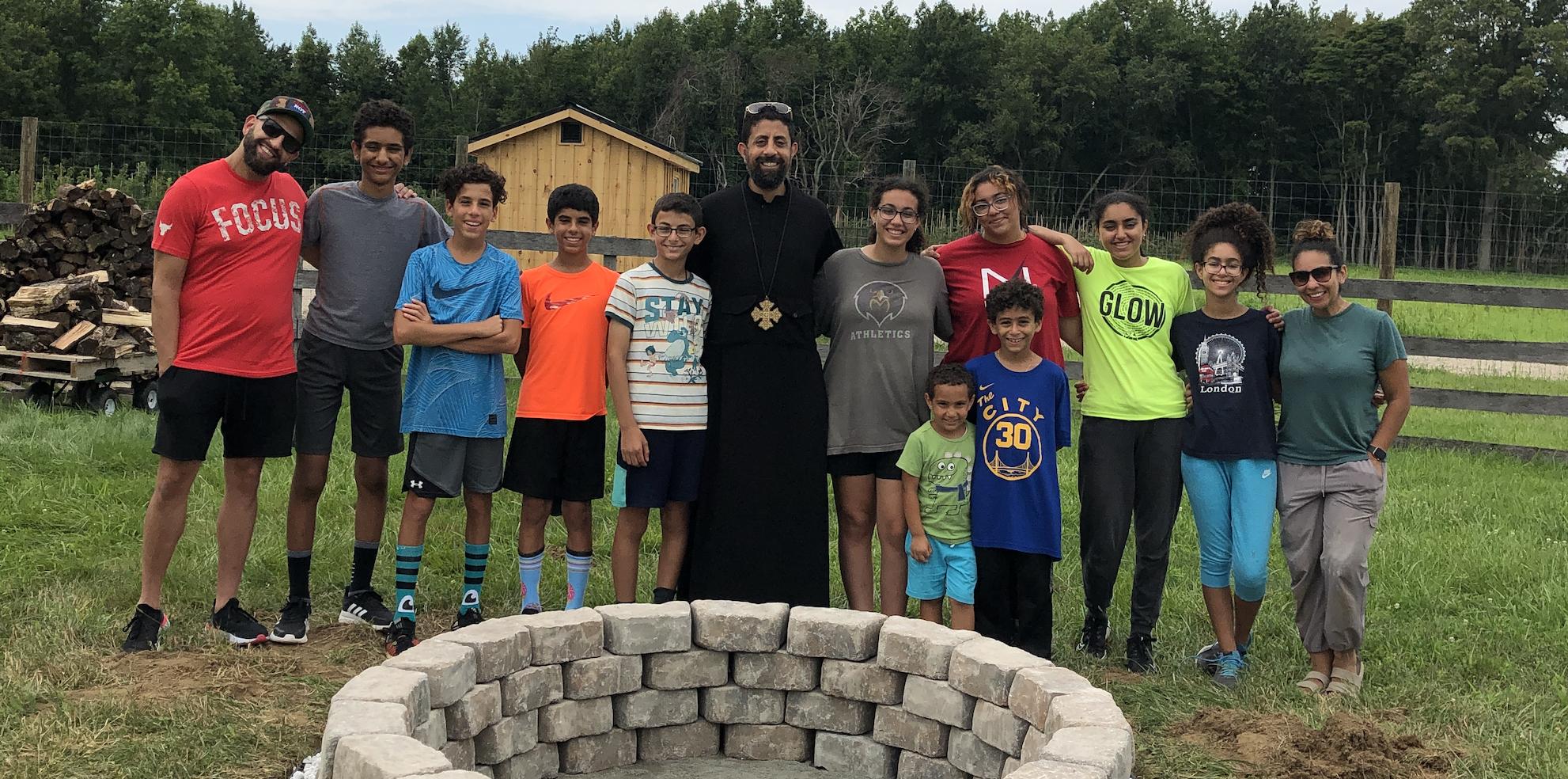 Youth Build Community Bonfire